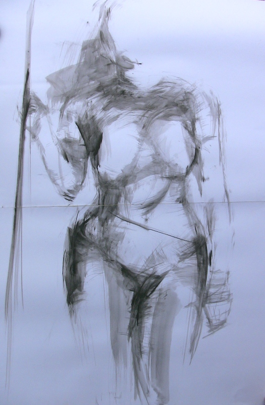 Nude sketch by Anna Login